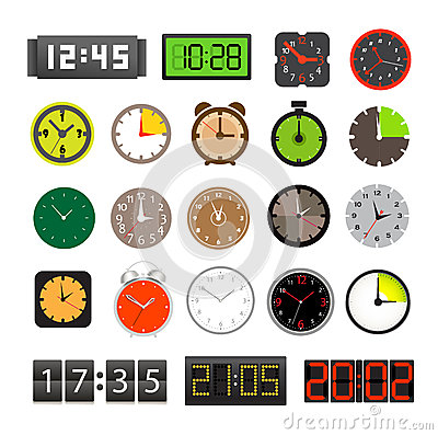 Different clocks collection