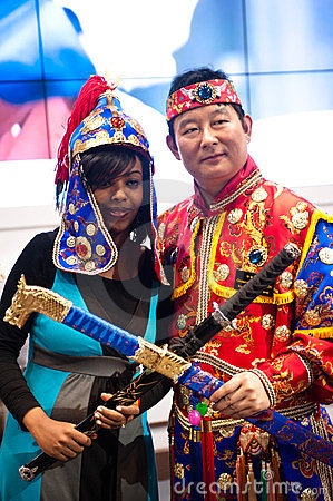 Different cultures at BIT 2012  Editorial Photography
