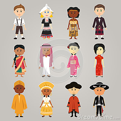 Different Ethnic People 88