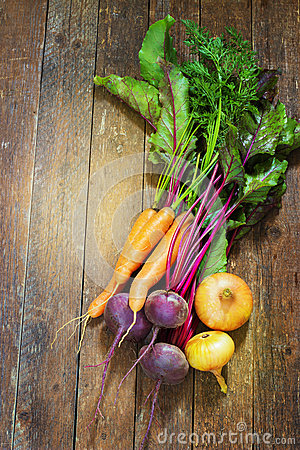 Free Different, Fresh, Young Vegetables, Beets, Carrots Royalty Free Stock Image - 59543096
