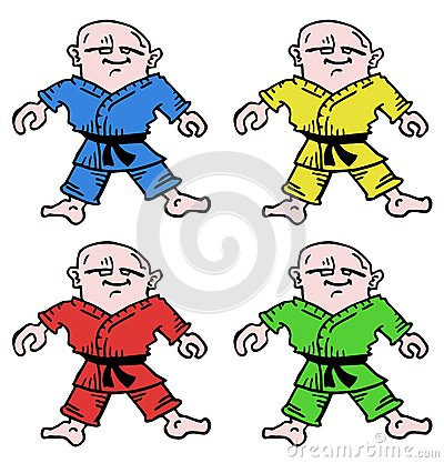 Different karate