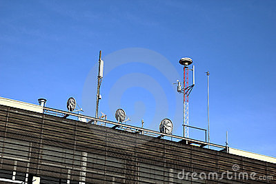 Different kinds of antennas