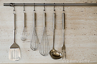 different-kitchen-tools-