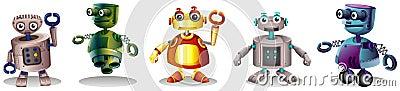 Different robot designs