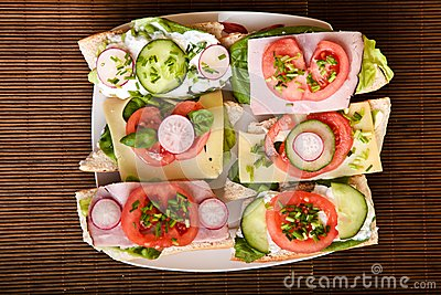 Different sandwiches
