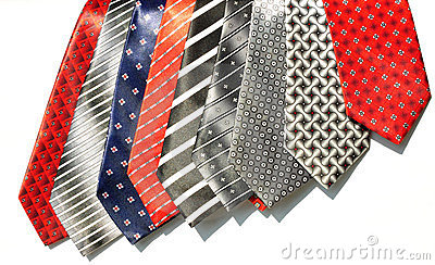 Different shades tie fabrics