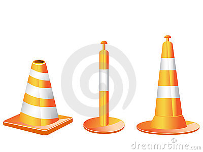 Different type of Traffic cones