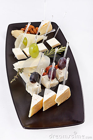 Different types cheese
