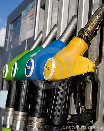Free Different Types Of Fuel Dispensers Royalty Free Stock Image - 11528156