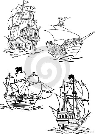 Different types of sailboats