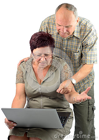 Difficult technology for pensioner