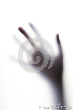 Free Diffused Shadow Of Hand With Thin Fingers Behind The Frosted Glass Royalty Free Stock Photo - 98822015