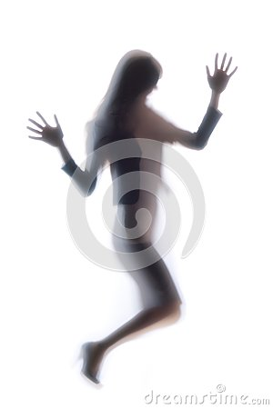 Diffused Silhouette of a woman