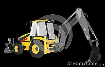 Digger yellow