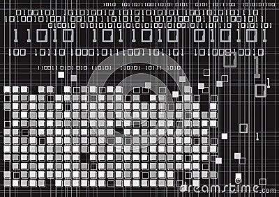 Digital Binary Code Technology