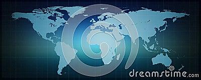 Digital binary world