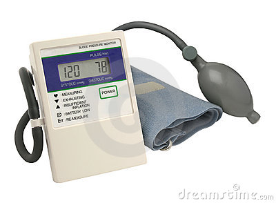 Digital blood pressure gauge