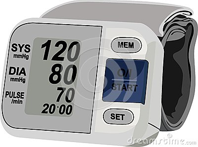 Digital blood pressure measurement equipment