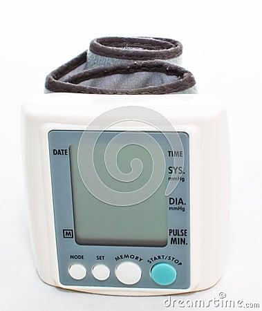 Digital blood pressure meter