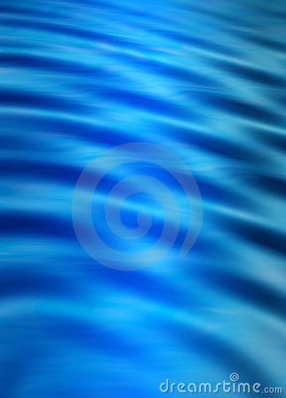 Digital blue water ripples eff