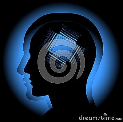 Free Digital Brain Stock Image - 15216921