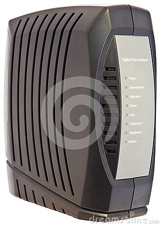 Digital Cable Voice Modem
