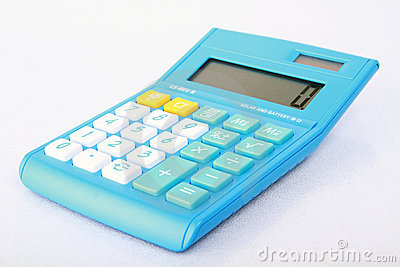 Digital calculator.