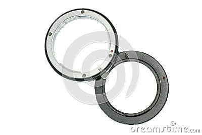 Digital camera extension ring