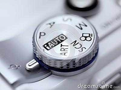 Digital Camera Mode Dial