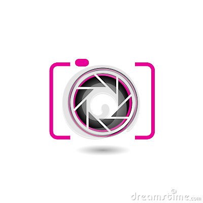 digital camera  photography logo royalty free stock photo