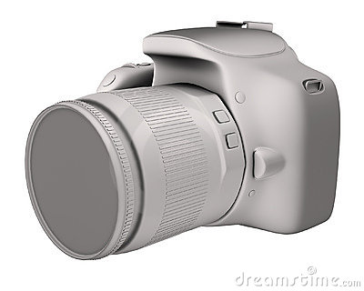 Digital camera render