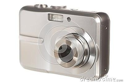 Digital camera on white