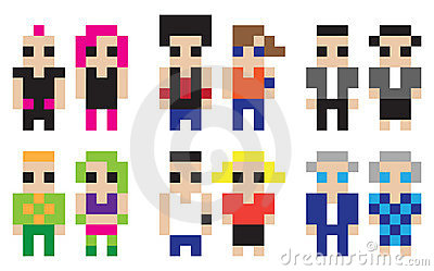 Digital characters