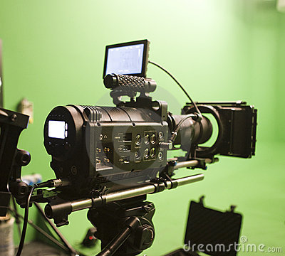 Free Digital Cinema Camera Stock Photography - 7170492