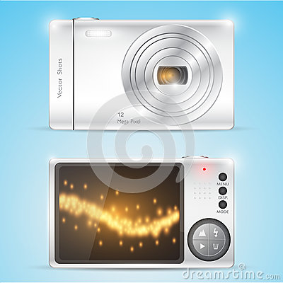 Digital compact photo camera.