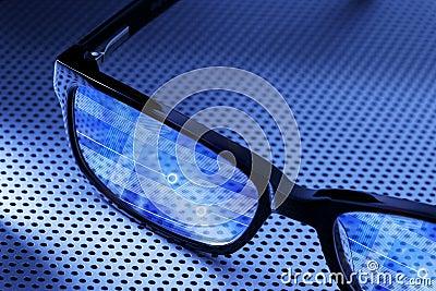 Digital Computer Smart Glasses