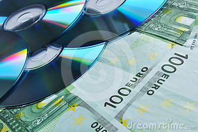 Digital disc on money
