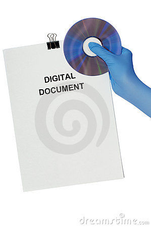 Free Digital Document Royalty Free Stock Photography - 16843057