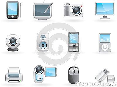 Digital electronics set
