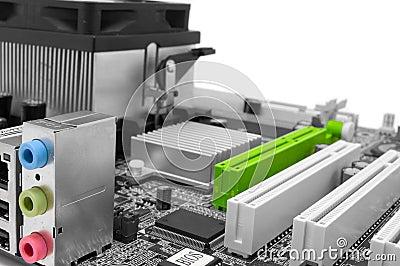 Digital extension: motherboard sockets