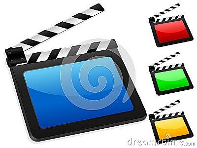 Digital film slate