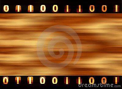 Digital film strip