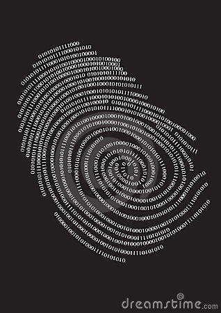 Digital finger print,
