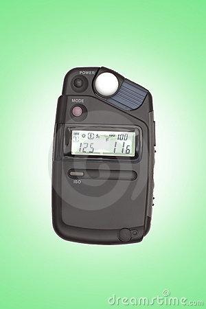 Digital flashmeter