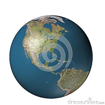Digital globe america