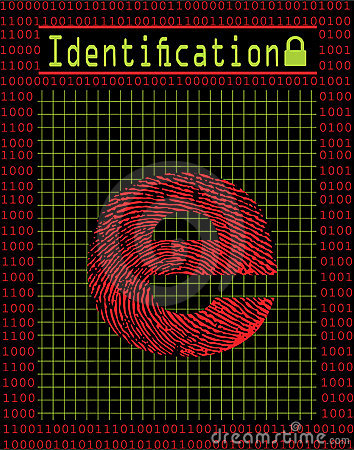 Digital identification concept