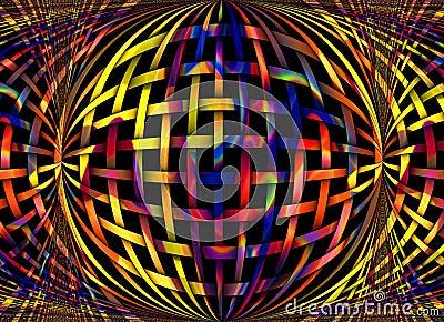 Digital image of pastel colors