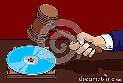 Digital Law Pt.1 Stock Image - Image: 14443891