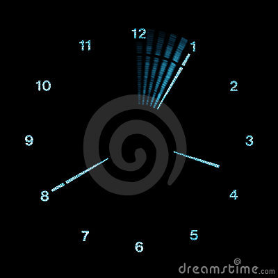 Digital LED Analog Clock