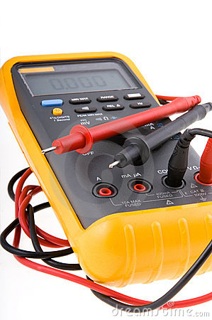 Free Digital Multimeter Royalty Free Stock Image - 1023136